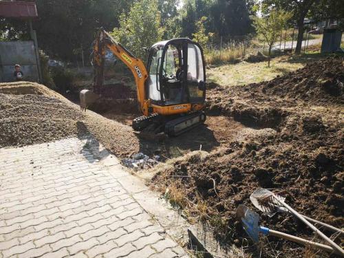 кърти дум копае - подмяна на горивни тръби
