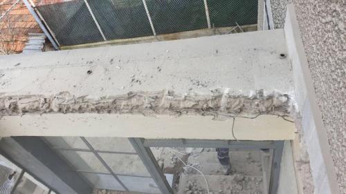 Къртене на бетон и тухла в частен обект в село Герман