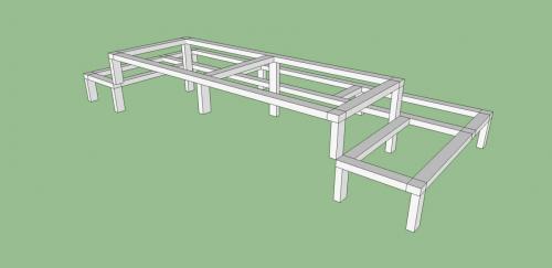 02. изграждане на метални стълби