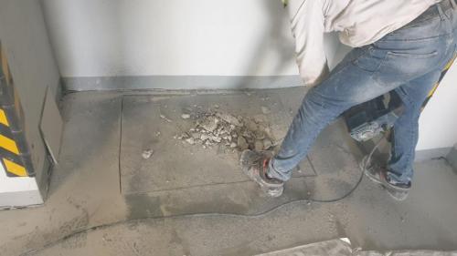 01. рязане на шлайфан бетон