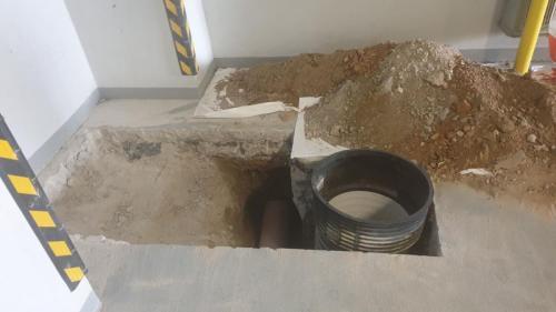 03. къртене на бетонна плоча