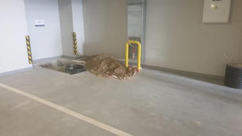 05. изкоп на дренажна система