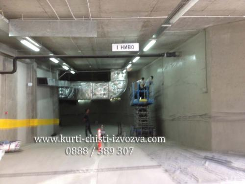 kurti v podzemen parking